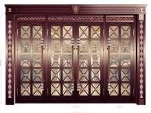 玻璃门14